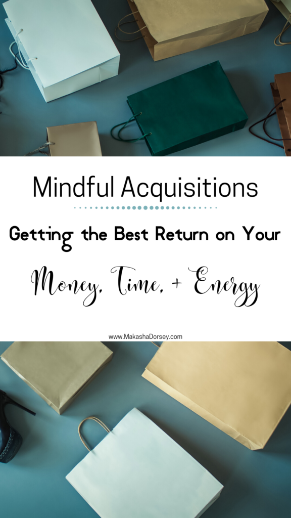 Mindful Acquisition - Pin